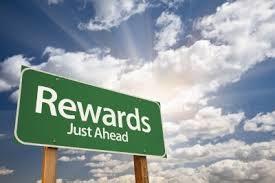 rewards just ahead